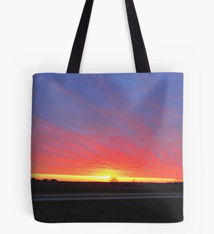 Prairie Tapestry Tote Bag