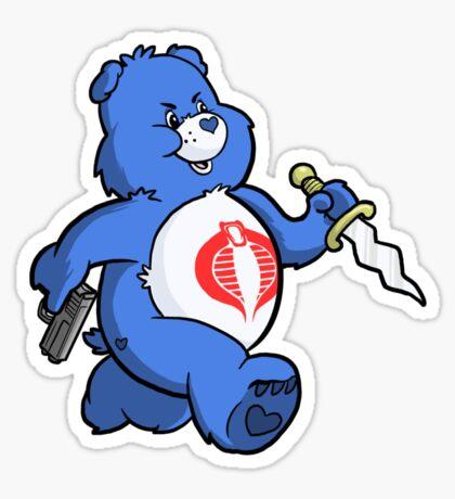 Scare Bear Sticker