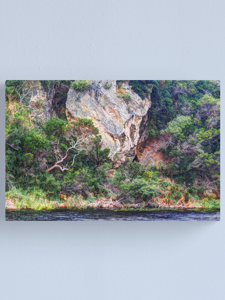 Alternate view of River Bank. Canvas Print