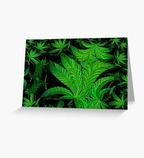 Green Ambition  Greeting Card
