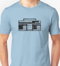 Boombox Graffiti Unisex T-Shirt