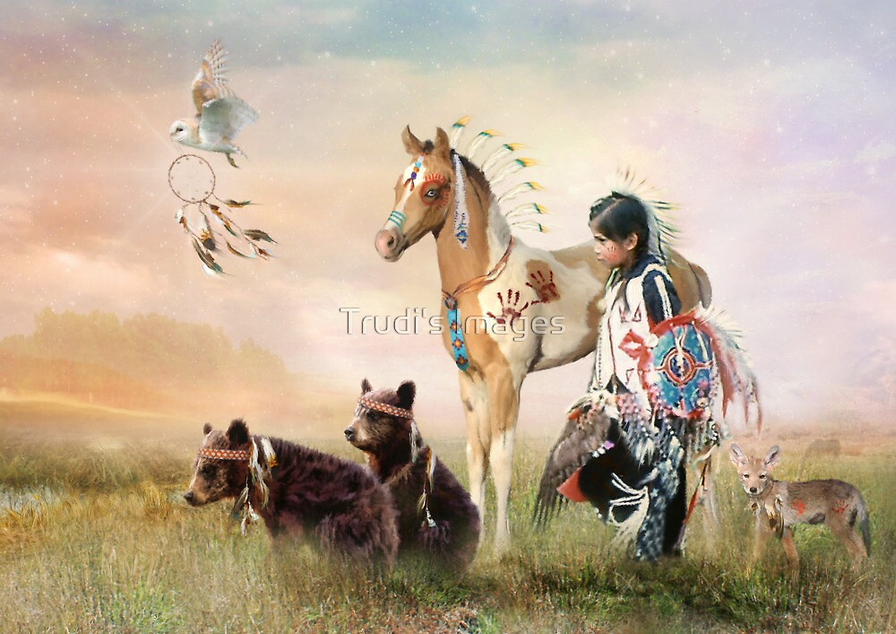 Little Warriors by Trudi's Images