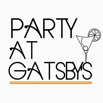 Party at Gatsby's (Light Shirt) by noomrevlis