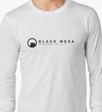 Black Mesa Research Facility Long Sleeve T-Shirt