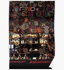 The Harp - Bar & Beer Mats Poster