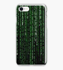 The Matrix Code iPhone Case/Skin