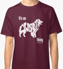 Aussome-- New Spirit 4 Aussie Rescue Classic T-Shirt
