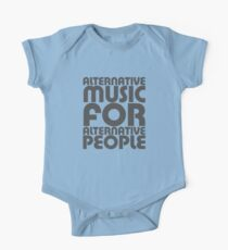 Alternative Music for Alternative People One Piece - Short Sleeve