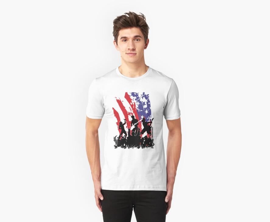 America Rocks by rawrclothing