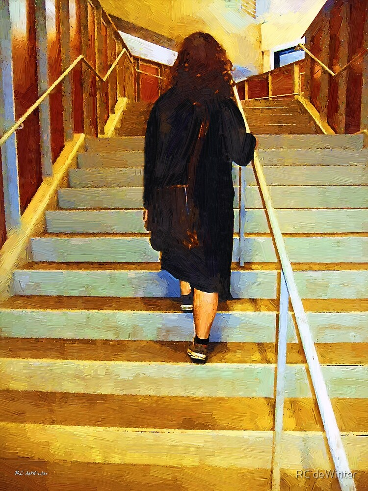 Girl Ascending by RC deWinter