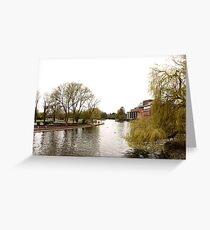 River Avon and Royal Shakespeare Company Greeting Card