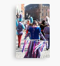 Bruges -  Pageant of the Golden Tree Canvas Print