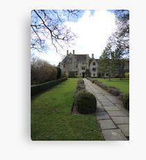 The Manor Reborn Canvas Print