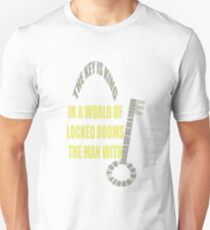 The man with the key is KING Unisex T-Shirt
