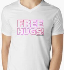 Free Hugs Men's V-Neck T-Shirt