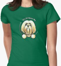 Lhasa Apso :: Its All About Me Women's Fitted T-Shirt