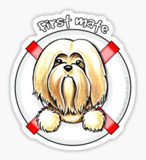Lhasa Apso :: First Mate Sticker
