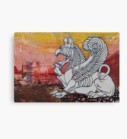 Guardians of the Divine Canvas Print