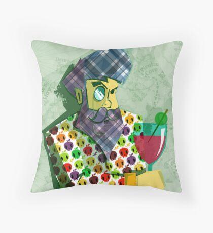Every captain needs a break Throw Pillow