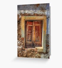 Closed For Lunch Greeting Card