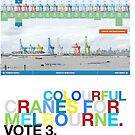 Colour up Melbourne! by Col  Finnie