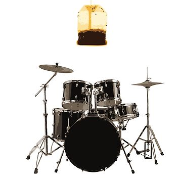 drum set, step brothers by concuido