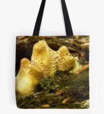 fungi peaks Tote Bag