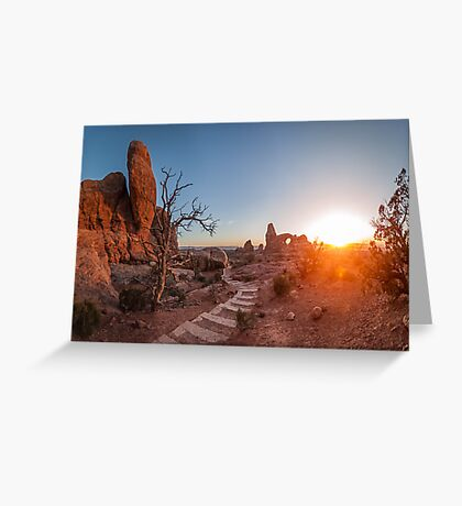 Stairway to the Sun Greeting Card