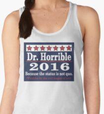 vote Dr. Horrible 2016 Women's Tank Top