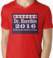 Vote dr. horrible 2016 Men's V-Neck T-Shirt