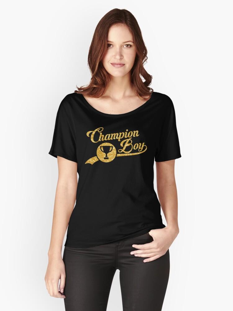 champion loose t shirt