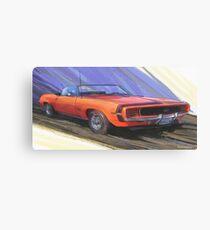 1969 Camaro SS L34 Canvas Print