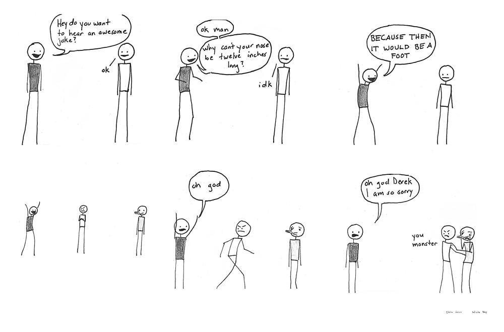Comic #7 - Derek by infinitenap