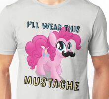 Pinkie Pie Mustache (My Little Pony: Friendship is Magic) Unisex T-Shirt