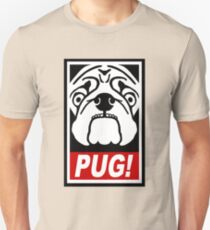 Obey the Pug! Slim Fit T-Shirt