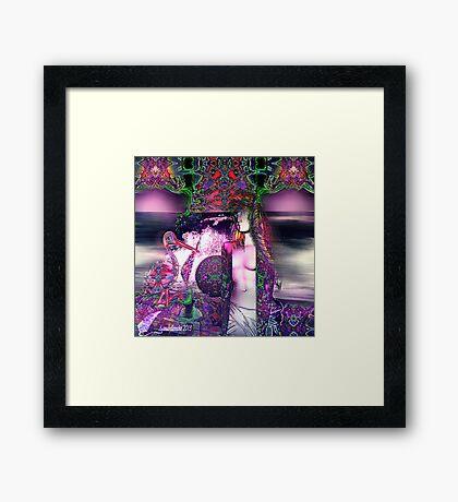 Aphrodite on a travel Framed Print