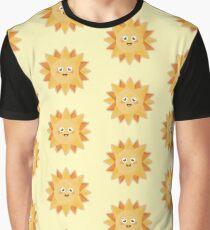 Kawaii Sun Graphic T-Shirt