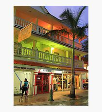 The Caribbean Hotel Photographic Print