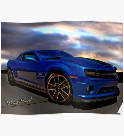 Camaro Hot Wheels Edition the Extension of Years of Consumer Marketing Poster