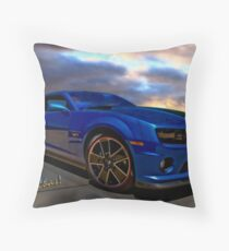 Camaro Hot Wheels Edition the Extension of Years of Consumer Marketing Throw Pillow