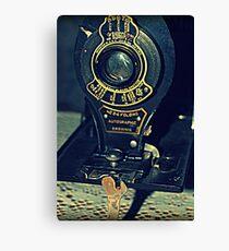 Autographic Brownie Folding Camera Canvas Print