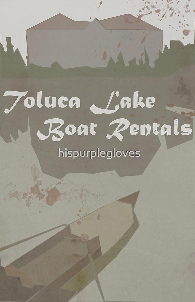 Toluca Lake Boat Rentals by hispurplegloves