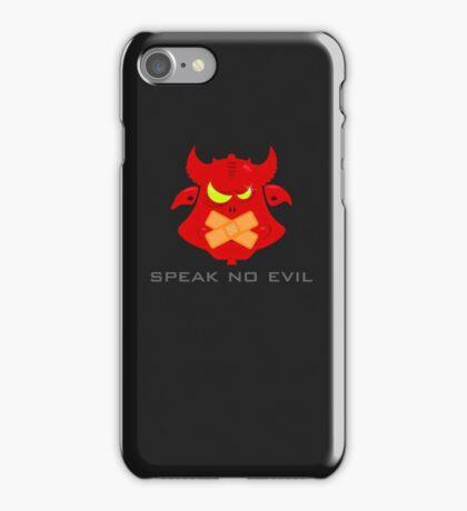 Speak no evil VRS2 iPhone Case/Skin