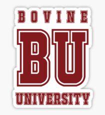 Bovine University - Simpsons Sticker