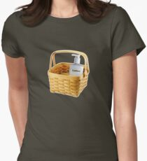 Where does the lotion go? T-Shirt