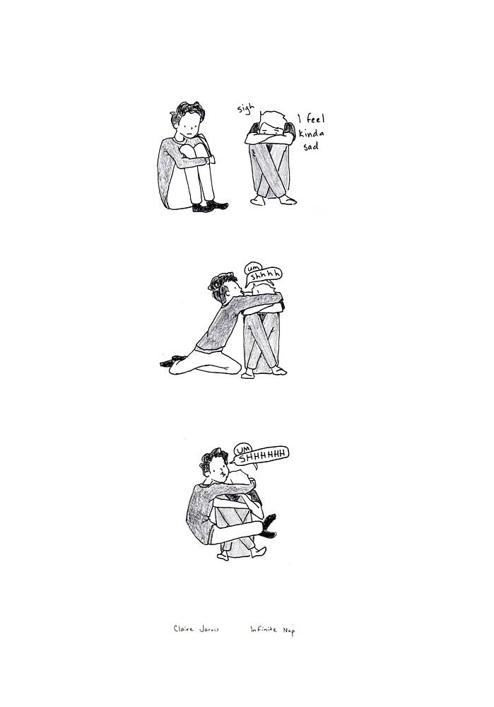 Comic #13 - Friend by infinitenap