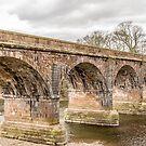 Structure, Bridge, Railway, River, Crossing by Hugh McKean