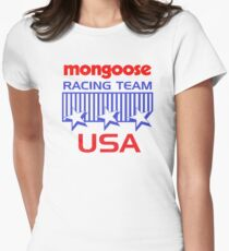 Mongoose Racing Women's Fitted T-Shirt