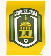 Sacramento SC // America League // PCGD Poster
