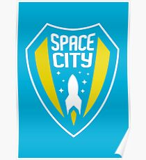 Space City // America League // PCGD Poster